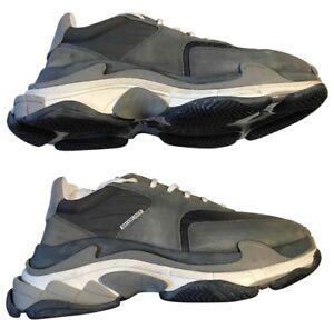 Balenciaga triple S sneakers 2.0 suede grey size US11