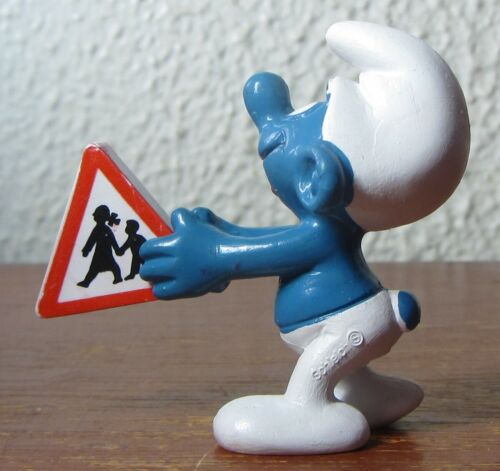 Smurfs - 20155 - Traffic Sign Smurf!