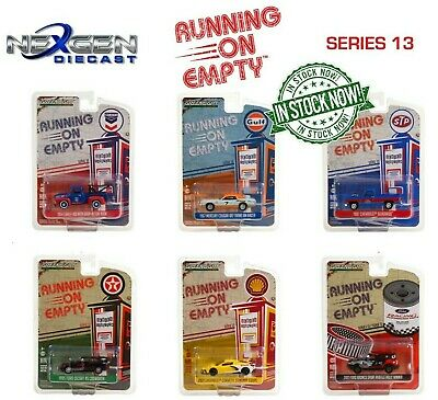 Greenlight 1:64 Running on Empty Series 13 - 6PC Lot IN STOCK NOW!