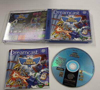 JEU Sega Dreamcast  BUZZ L ECLAIR  COMPLET   vf