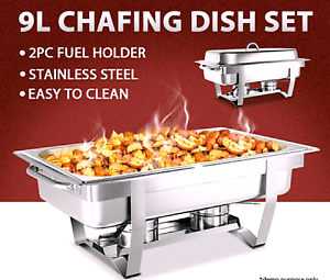 Food warmers/ Chafing dish for hire.  Party hire. Oxley Park Penrith Area Preview
