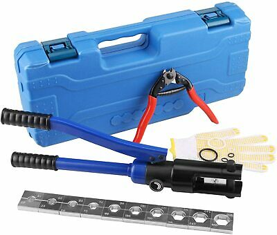 Hydraulic Cable Lug Tool 4 Awg To 600 Mcm Battery Cable Crimping Tool Wire Term