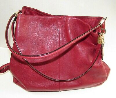 2013 Coach Leather Madison Phoebe Shoulder Bag Purse #26224