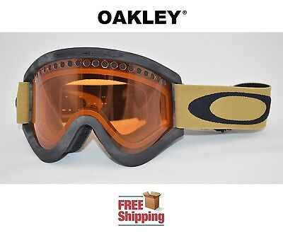 OAKLEY® E FRAME® SNOW GOGGLES DUAL LENS SNOWBOARD SKI COPPER CAMO PERSIMMON NEW