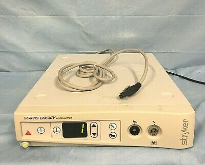 Stryker Serfas Energy Rf Generator 279-000-000 With Foot-switch 279-000-010