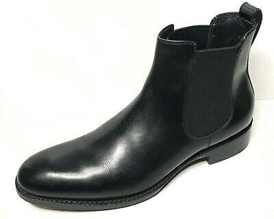Salle Privée Walter Chelsea Boot Black Pull On Size 8 98943.6465.8 Beatles