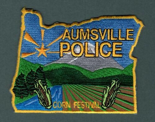 Aumsville Oregon Police Patch  -  Authentic