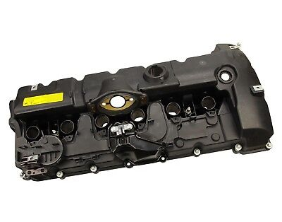 Engine Valve Cover Assembly with Gaskets and Bolts for BMW Brand New ()