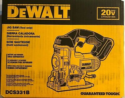 (Dewalt DCS331B 20 volt max Cordless Jig Saw Bare tool New in the box)