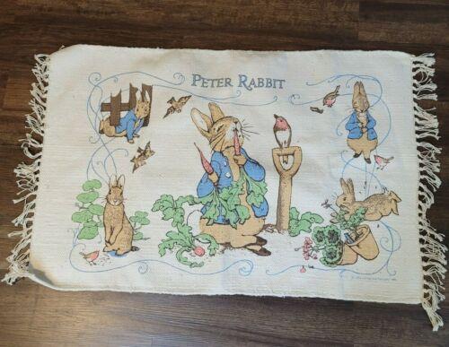 Vintage Peter Rabbit Rug Child