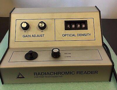 Far West 92 Dual Wavelength Photometer Radiachromic Reader Optical Density Meter