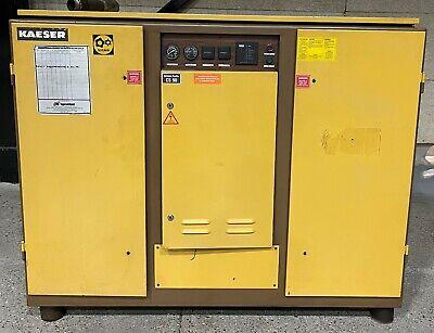 Kaeser Cs90 Rotary Screw Air Compressor 75hp With Kaeser Te91 Dryer