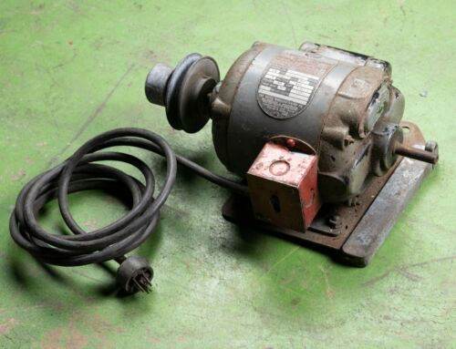 Delta Manufacturing Single Phase Motor 115/230 Volts