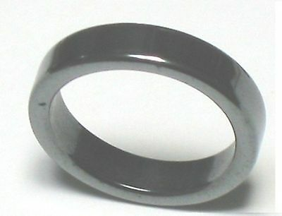 100 hematite stone bands rings bulk wholesale Lot black