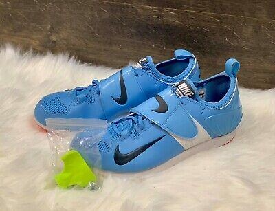 ea2c22bd9a402 Nike Zoom PV II 2 Vaulting Track   Field Spikes Blue Mens SZ 6.5 317404-446
