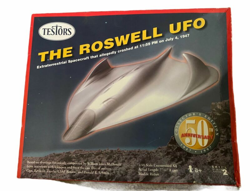 Roswell UFO Model 50th Anniversary Collector's Edition