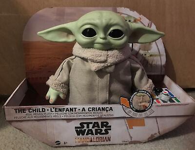 Star Wars Mandalorian Baby Yoda Grogu The Child Animatronic Edition Toy IN HAND