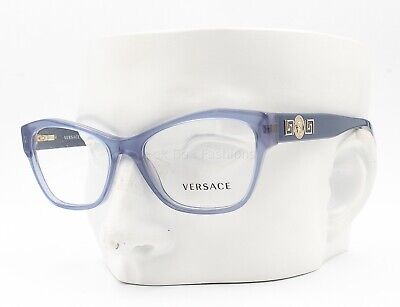 Versace MOD 3180 5055 Eyeglasses Optical Frames Glasses Crystal Blue 53-16-140