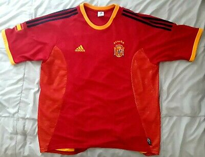Adidas Spain Jersey España Red/Orange Size Mens XL Climalite (Orange Soccer Jersey)