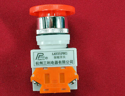 No Nc Emergency Stop Switch Push Button Mushroom 4 Screw Terminals