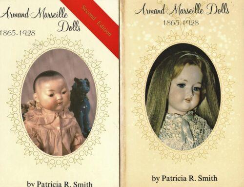 German Armand Marseille Dolls 1865-1928 Incl. Marks Values / 2-Vol. Book Set