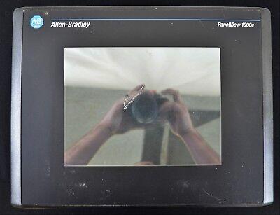 Allen Bradley 2711e-t10c15 Panelview Plus Tested 1000e Color Keypad Series D