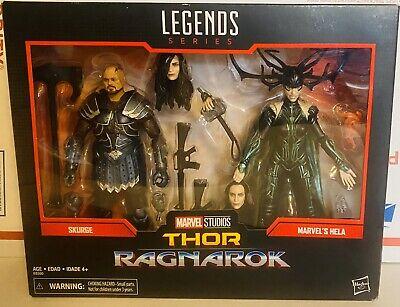 Thor Ragnarok Skurge & Hela Action Figures Marvel Legends Series 2-pack Box NEW
