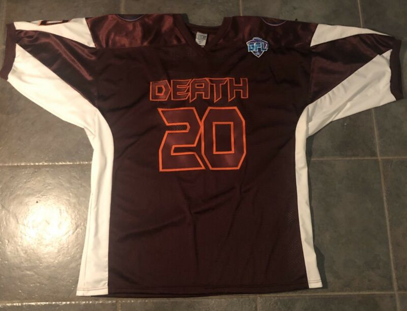Orbiting Death Leland Stitched Jersey GFL 3XL