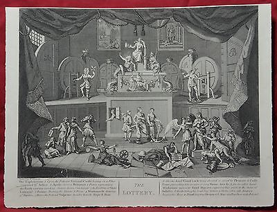 The Lottery, engraved by WILLIAM HOGARTH as restored by E. Heath (Heath Edition)