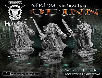 HiTech Miniatures Odinn (28mm) | Vikings | Sci Fi Tabletop