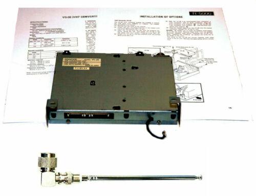 Kenwood VC-20 VHF UHF Converter for Kenwood R-5000 Radio + Telescopic Antenna