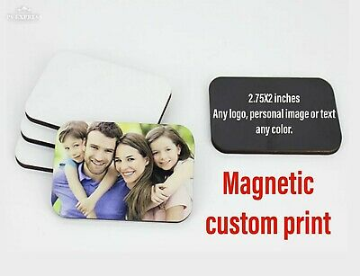CUSTOM print Fridge Magnet Photo logo text locker magnet 2