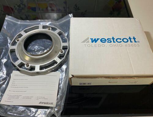 Westcott Aluminum Speed Ring For Balcar/White lightning style #3500