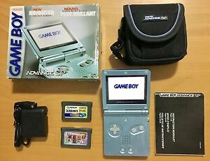 Perfect Condition Gameboy Advance SP_With Lots of Games