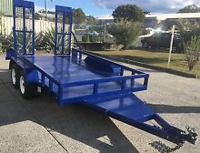 NEW 12x6 EXTRA HEAVY DUTY MACHINERY TRAILER GRID MESH RAMPS... Warwick Southern Downs Preview