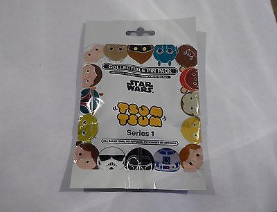 Disney Trading Pins 120048 Star Wars - Tsum Tsum Mystery Pin Pack - Series 1