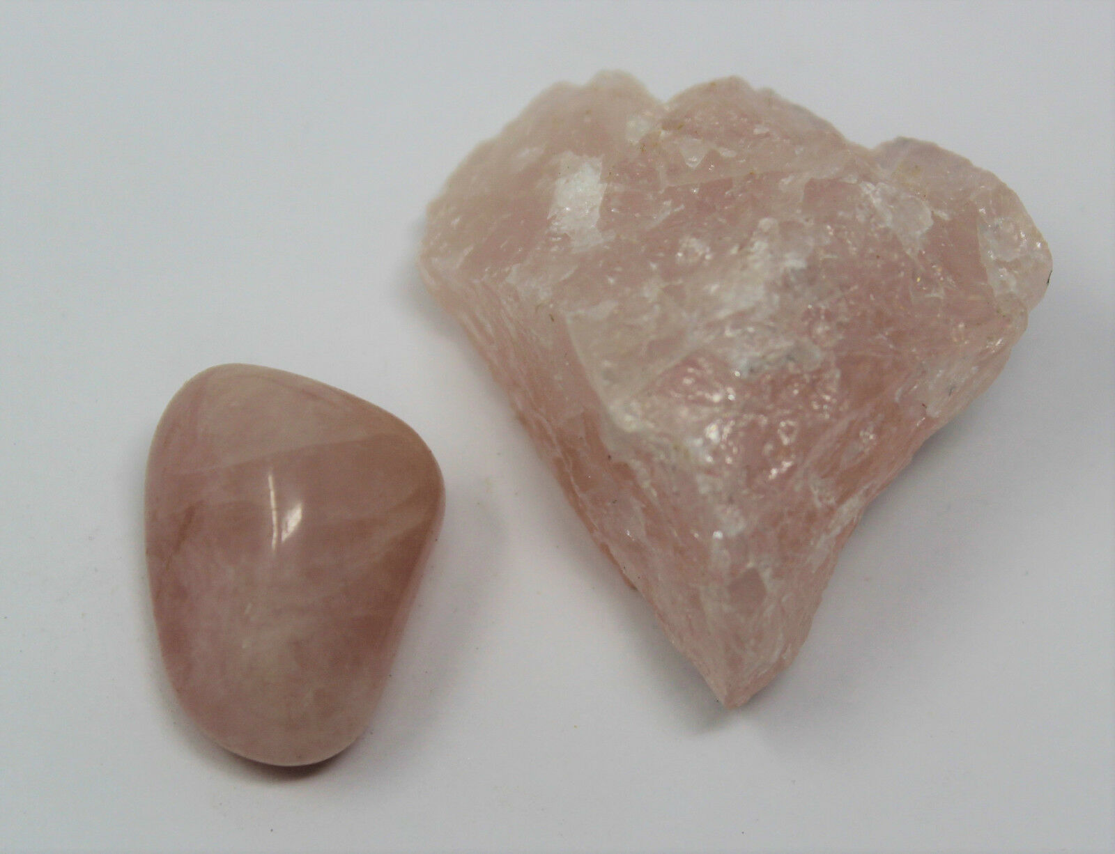 Rough Natural + Tumbled Stone Set: You Choose (Raw Gem Crystal Healing Rock)