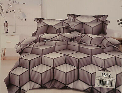 Bettwäsche Bedbezug 3tlg.160x200 Stimmt mit Bild