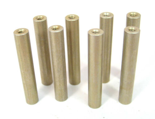 "Aluminum Round Spacers/Standoffs, 4/40 x 1-1/2"" Long, 8/Lot: HH Smith 8329"