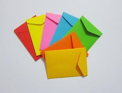Handmade Seed Envelopes 1-34x2-12 Small Coin Money Catalog Storage Gum Flap