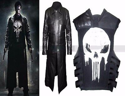 The Punisher Thomas Jane Frank Castle Costume Coat - Punisher Costume Vest