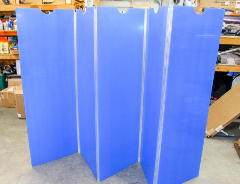 Control Acoustics 5-piece Acrylic Drum Shield, BLEM