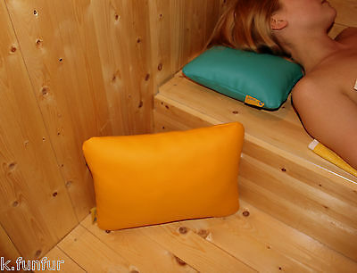 Sauna Cushion 50x40 Art Leather, Soft Pad, Wellness, Tons Sauna, Finnish Sauna