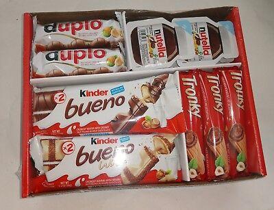 Ferrero Chocolate Variety Pack Wafer Cookie Galleta Candy Bar Europe Sweet - Ferrero Chocolate Wafers