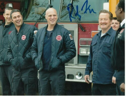 RANDY FLAGLER signed (CHICAGO FIRE) TV SHOW 8X10 photo *Harold Capp* W/COA CPD