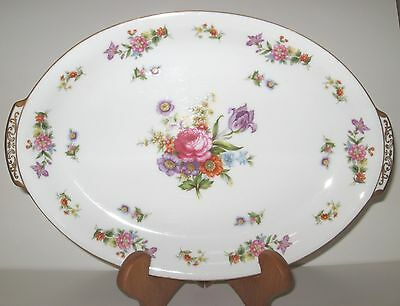 HARMONY House Dresdania 14 Inch Oval Serving Platter Mint