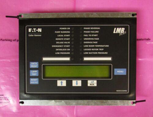 EATON CUTLER HAMMER LMR PLUS Fire Pump Control Module Logic Controler 4A55152H01