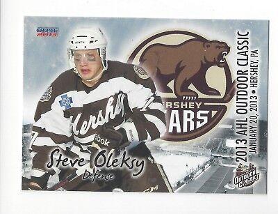 2012-13 AHL Outdoor Classic Steve Oleksy (Toronto Marlies) segunda mano  Embacar hacia Argentina