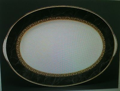 "NEW Noritake OPULENCE 16"" Large Oval Serving Platter - BRAND NEW IN THE BOX"