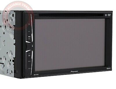 Pioneer AVH-211EX Double DIN DVD CD Player Radio Bluetooth Iphone USB USED 🔥